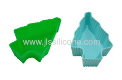 Christmas Xmas party prop decoration tree silicone cake pans cake molds