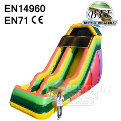 20' Inflatable Single Lane Slide