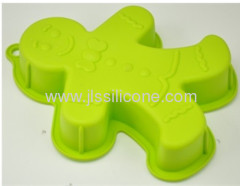 Human shaped silicone cake baking mold in shinning colors