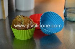 Mini silicone jelly and muffin baking mold