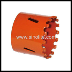 "Tungsten Carbide Gritted Hole Saw sizes: 19-102mm (3/4""--4"")"