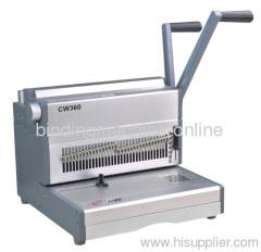 heavy duty double loop wire binding machine