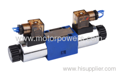 directional spool valve with solenoid coil