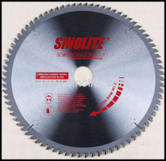 T.C.T. Saw Blade for Cutting Aluminum