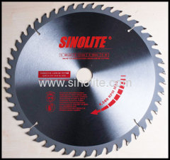 CROSS and RIP cutting TCT saw blade