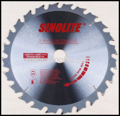 TCT Saw Blade with ANTI KICK BACK Teeth Silence Design