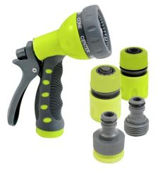 7-Pattern Plastic Water Spray Nozzle Set