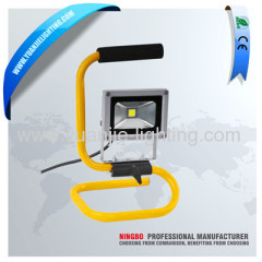 10W COB portable LED working lamp flood light