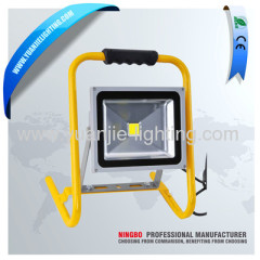 50W COB portable LED work lamp flood light