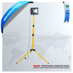 single head 20W LED work light with tripod