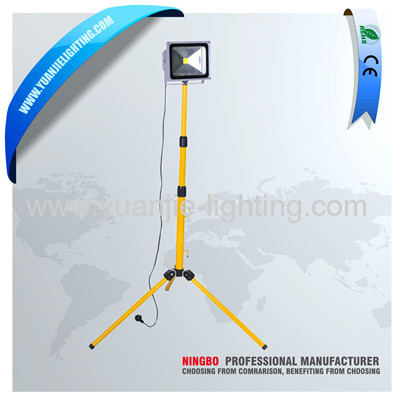 single head 50W LED work light with tripod