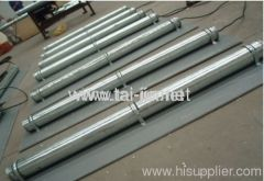 MMO Titanium canistered anode Galvanized steel Tube for protection of storage tanks