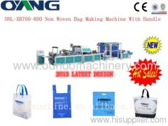 Automatic non woven box bag making machine price