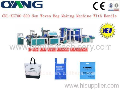nonwoven Box bag making machine price