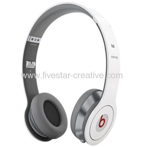 Beats by Dr.Dre Solo HD with ControlTalk Headphones-White