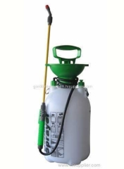 Plastic 5L garden pressure sprayer for plant