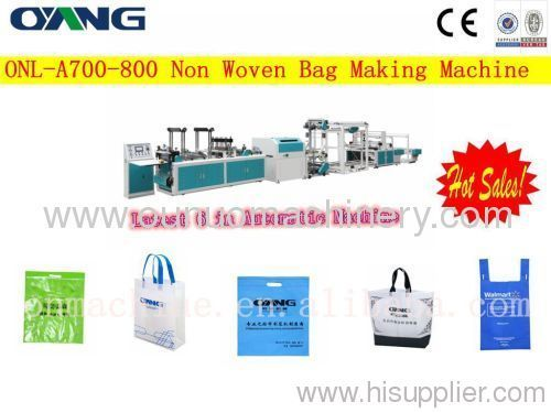 automatic non woven bag making machine in china