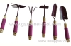 Garden Hand Tools Set Include shovel,rake,cultivator,Hoe,Weeder,