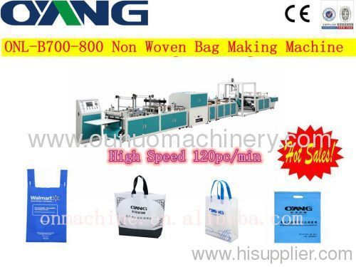 non woven bag making machines price