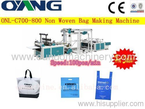 high speed non woven bag making machine price