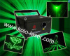 2W Green stage laser light with CNI diode, laser show system