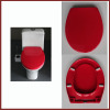 red toilet seat red duroplast toilet seat