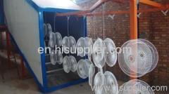 vertical powder coating line for desert cooler