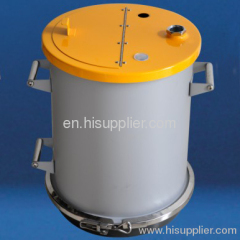 stainless steel powder hopper