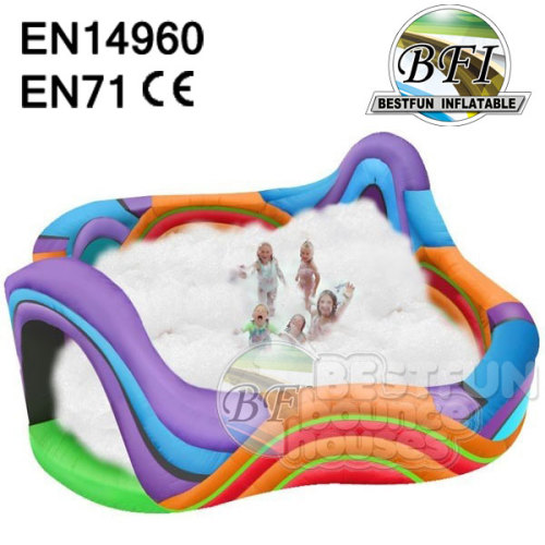 Colorful Commercial New Inflatable Foam Dance Pit