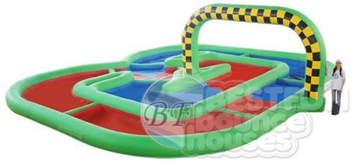 Inflatable Extreme Race Track