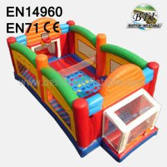 Inflatable 3 In 1 Sports