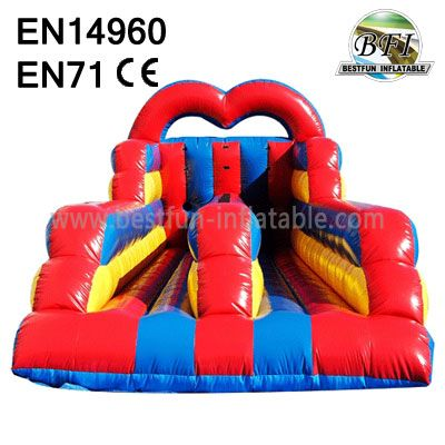 Inflatable Bungee Run With Ropes