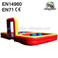 Outdoor Interactive Inflatable Joust Game