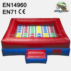 Interactive Inflatable Twister Game