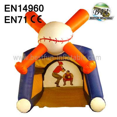 Inflatable Baseball Toss For Sale