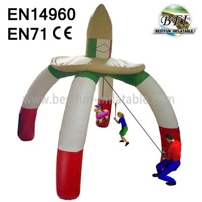 Portable Interactive Inflatable Sport Game