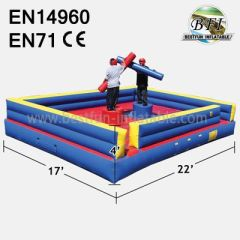 Inflatable Gladiator Joust Arena