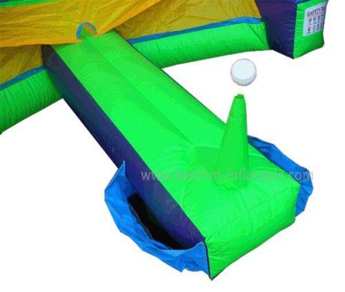 Inflatable Baseball Challenge Game