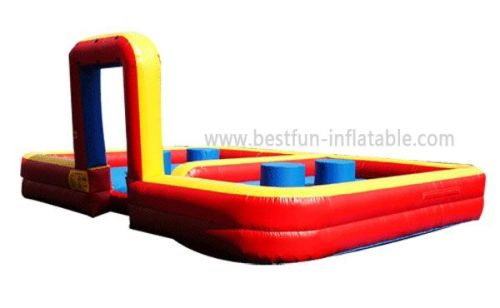Inflatable Quad Joust Game