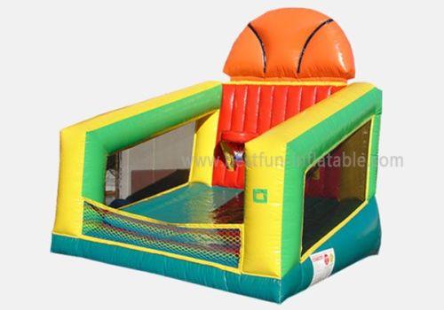 Inflatable Basketball Challenge Game