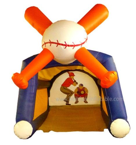 Inflatable Baseball Toss Game