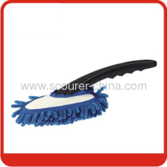 Microfiber Chenille Cleaning Duster with Blue+black