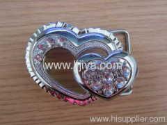 metal strap bag clip buckle
