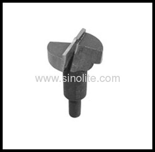 Tungsten carbide tipped boring bit