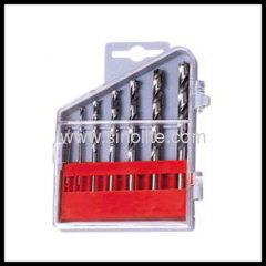 HSS Twist Drill 7pcs-- (1.5, 2, 3, 4, 5, 5.5, 6mm)