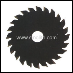 Tungsten Carbide Tipped TCT Saw Blade size: 100-120mm with teeth number 20-22T