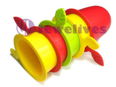 Food Grade Silicone tea strainer lovely design