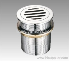 Fashion Design High Quality Brass Chrome Plated Waste Drain