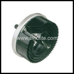 Product: Exchangable hole saw set 5pcs Sizes: 60-67-74-81-95mm, center drill 8mm