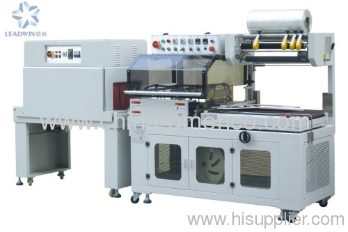 Automatic sealing and shrink packing machine
